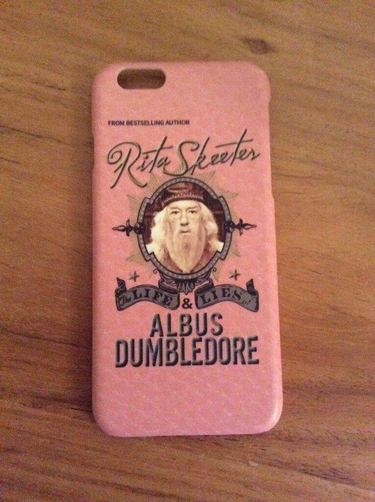 Harry Potter/ Dumbledore iPhone 6/6s phone case