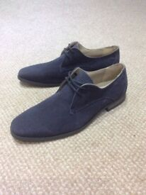 Brand New Suede Navy Blue Shoes