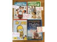Different priced DVDs