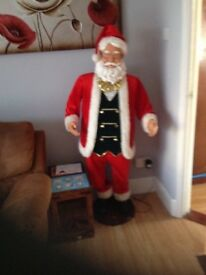 Singing dancing Santa perfect condition on eBay for £200 I'm asking 130 so bargin no offers