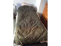 Fox sleeping bag. Carp fishing