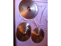 """Pearl Cymbal Starter Pack - 14"""", 16"""", 20"""""""