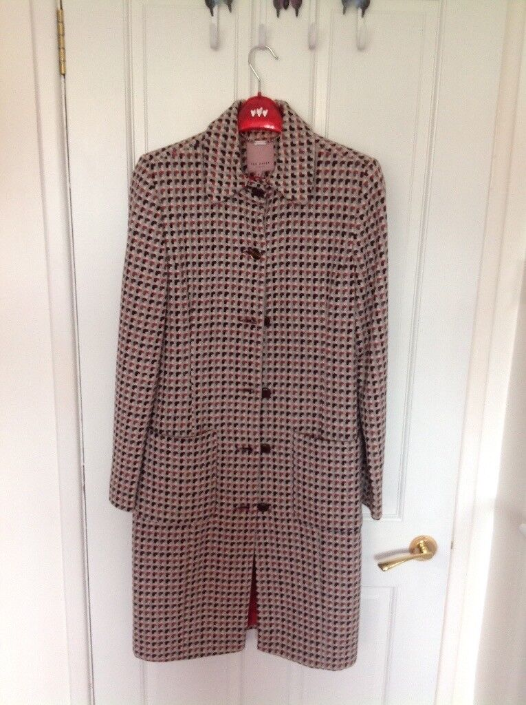 66d203d8c Lambs wool Ted Baker Coat for sale £20.size 4( ladies size 14)