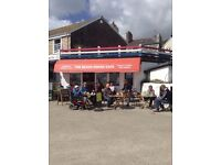 head chef for a beach cafe lyme regis live in