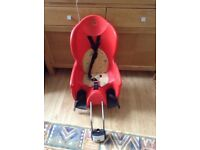 Hamax bike seat in excellent condition