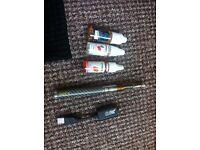 Aspire CF VV 650mAh Battery Vape Vapouriser 3x Fluids