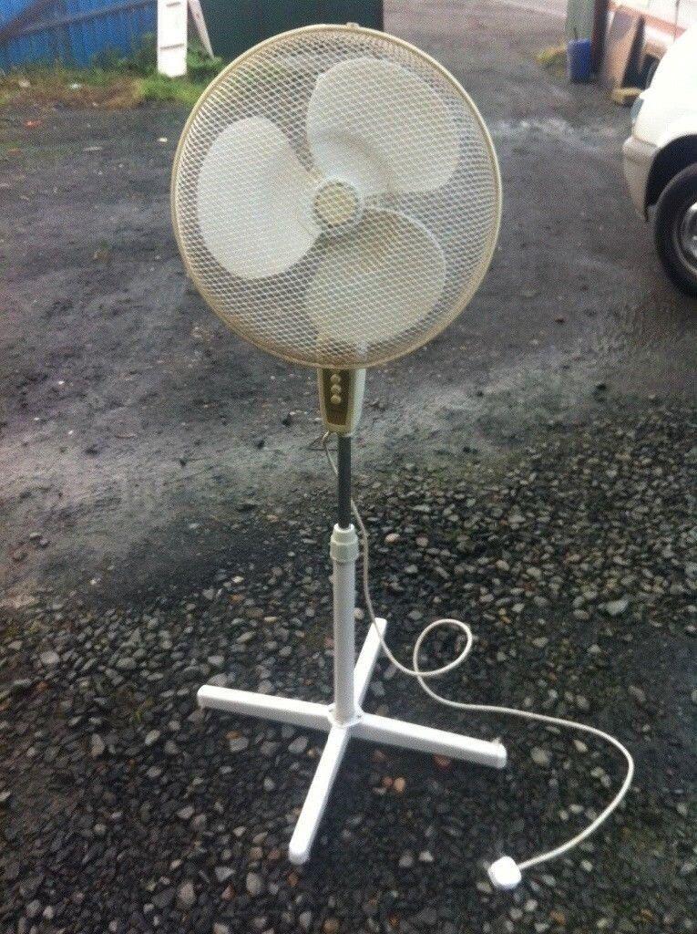 THE HEATWAVE IS COMING, Tefal floor standing height adjustable fan