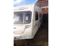 Bailey ranger gt60 2009 5 berth with full awing