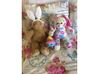 BUILD A BEAR BUNNIES AND ACCESSORIES