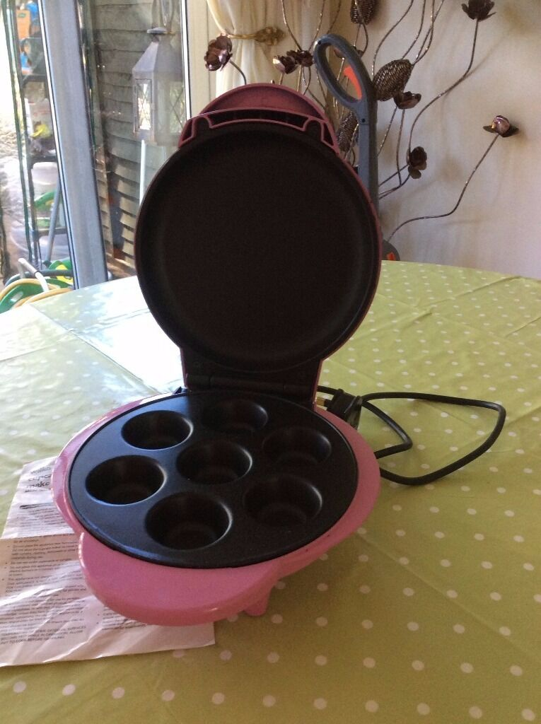 Pink Wilko Mini Cupcake Maker with instruction leaflet | in Bury St ...