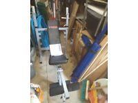 York Fitness 530 Heavy Duty Multi-Function Barbell Bench
