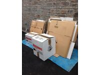 27No Used Packing/Storage Boxes