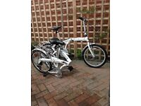 Land Rover Folding bikes inc bags