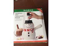 Snowman Hot Chocolate maker