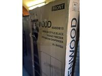 black Kenwood American fridge freezer....Ex display