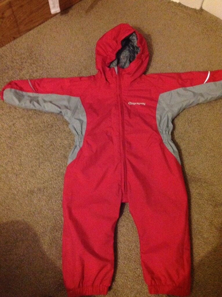 Red sprayway snowsuit 2-3 years