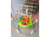 Jumperoo rainforest. Only 6 months old. Bargain