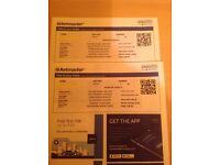 2 Rod Stewart tickets 14th Nov 16 Belfast