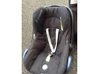 Maxi-cosi cabrio-fix baby seat - new born to 1 year old