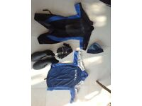 O'Neill 2mm Wetsuit Junior/Top/ Sailing Gloves/ Sailing Boots size 7/8/Waterproof sailing hat