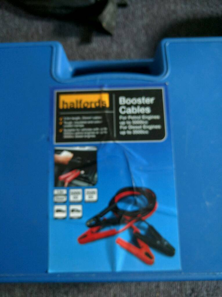 Halfords Booster Cables