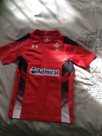KIDS WELSH RUGBY SHIRT