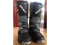 Kids / child's motorcycle/ motocross boots