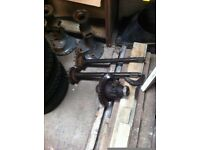 Massey Ferguson 35 Tractor Half Shafts and Differential parts