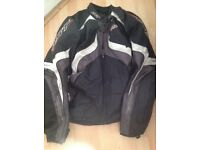 RST razor motorbike jacket and trouser size xl