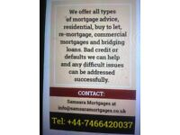 WE OFFER ALL TYPES OF MORTGAGE ADVICE