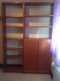 Ikea Billy Bookcases (Brown)