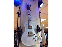 Paul Reed Smith Limited Edition White and Gold Electric Guitar