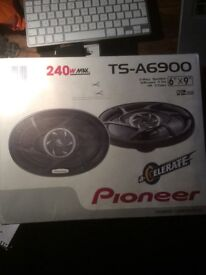 Pioneer TS-A6900 speakers - boxed and unused