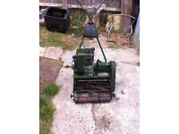 """qualcast commodore 14"""" self proppeled motor lawnmower"""