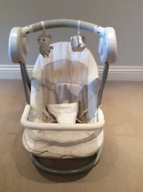 Mamas and Papas Musical Slumber Baby Swing/Rocker/Bouncer: Excellent Condition