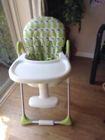 Excellent Condition Highchair