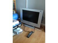TV and DVD combi plus Wii Fit and loads of other stuff