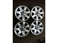 16 inch original BMW alloys