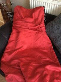Red dress size 16