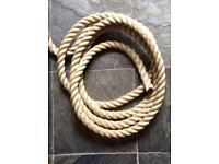 24mm Polyhemp Rope - NEW - sold per metre