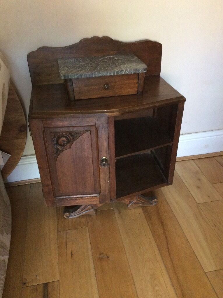 Small marble top unit