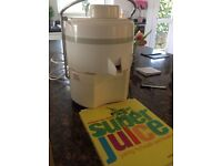 Super Juicer and juice recipe book