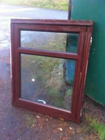 Upvc double glazed window units