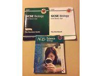 GCSE Biology Books.