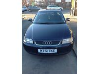 AUDI A3 1.9 TDI, FULL SERVICE HISTORY, 11 MONTHS MOT £1395ono NO TIMEWASTERS PLEASE. PRICED TO SELL