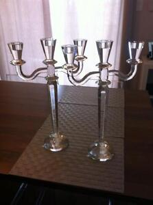 Gorgeous Crystal candelabras