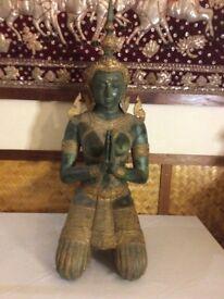Thai female teppanom statue