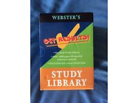 Webster's study library