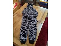 Animal print onesie from Next age 8 years