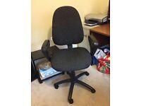 Charcoal colour desk chair